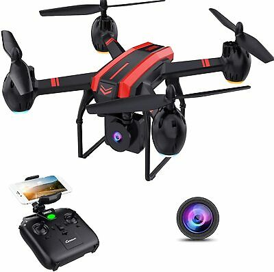 AU95.74 • Buy 1080P HD Camera Drones For Kids And Adults, X105W RC Quadcopter, WiFi Live Video