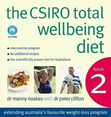 AU31.75 • Buy NEW The CSIRO Total Wellbeing Diet Book 2  By Dr. Manny Noakes  Paperback