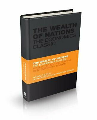 AU23.25 • Buy NEW The Wealth Of Nations By Adam Smith Hardcover Free Shipping