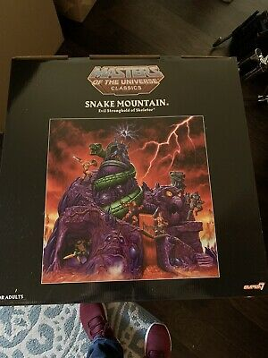 $1600 • Buy Super7 Masters Of The Universe Classics Snake Mountain Playset Sealed MISB