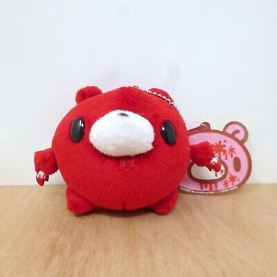 Chax GP Gloomy Bear Red Round Ball Keychain Mascot Plush Soft Toy Japan New 3  • 14.99£