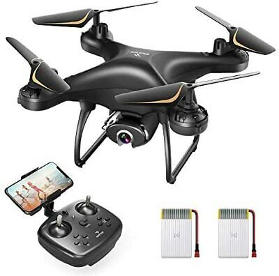 AU186.25 • Buy Drone With Camera For Adults 1080P HD Live Video Camera, Voice Control, Headless