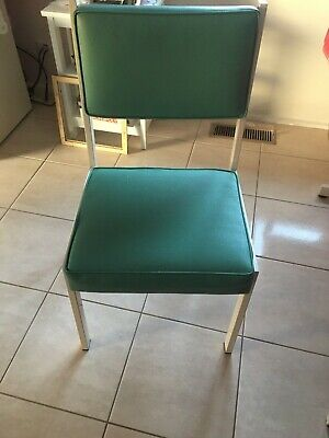 AU390 • Buy 6x Kitchen Chairs Powder Coated In Excellent Condition