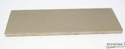 Eze-Lap 2″ X 6″ Fine Grit Diamond Bench Stone (600) With A Leather Pouch 66F • 29.99£