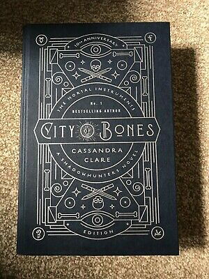 City Of Bones The Mortal Instruments By Cassandra Clare 10th Anniversary Edition • 200£