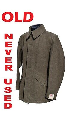 Vintage Swedish Army Fitted Wool Coat / Jacket / Tunic Model3 • 24.99£