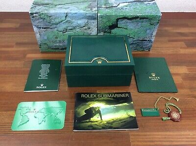 $ CDN566.94 • Buy Rolex Submariner 16613 Watch Box Set + Booklets Tags Card Holder Etc + FREE POST