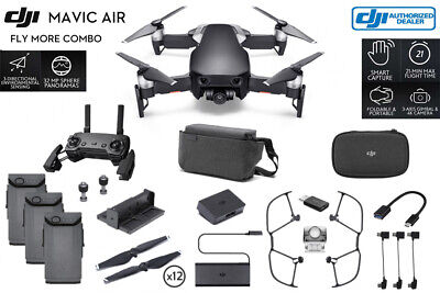 AU1157.83 • Buy DJI Mavic Air Fly More Combo (Onyx Black) CP.PT.00000156.01 IN STOCK