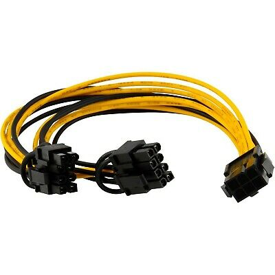 AU9 • Buy PCI-E 6pin To 2x6/8-pin Power Splitter Cable PCI Express Graphic Card Cable