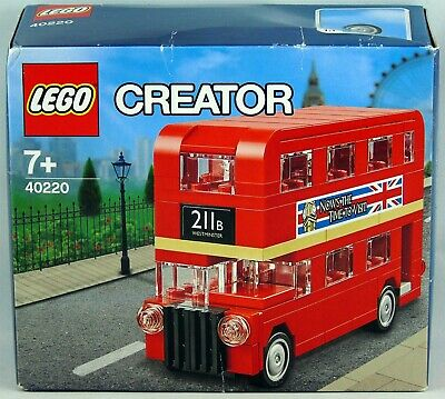 $ CDN43.95 • Buy Lego 40220 Creator Double Decker London Bus 118 Pcs