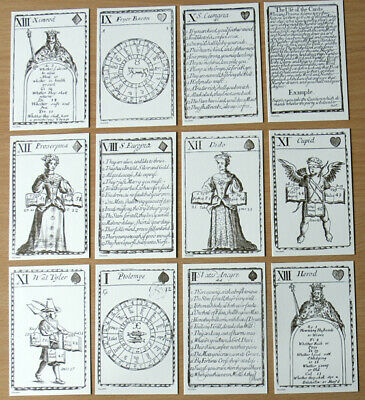 Fortune Telling Playing Cards - Facsimile Of John Lenthall's Pack • 10.95£