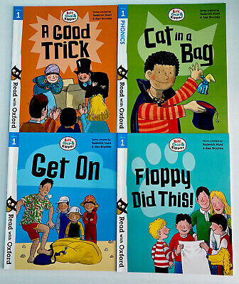 Oxford Stage 1 Biff Chip And Kipper Books Bundle Set Phonics Early Reader X4 NEW • 11.99£