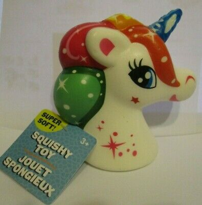 AU10.23 • Buy Rainbow Unicorn Squishy Toy Stress Reliever LARGE Size For Big & Small Hands