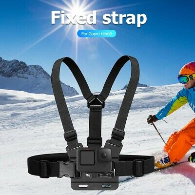 AU10.71 • Buy Adjustable Chest Harness For GoPro Hero9 Black Action Camera Accessories
