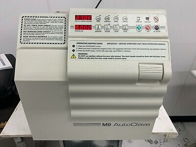 $2150 • Buy Ritter Midmark M9 Autoclave
