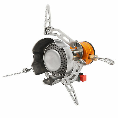£13.11 • Buy Mini Camping Oven Stove Outdoor Portable Windproof Gas Stove Folding Picnic Tool