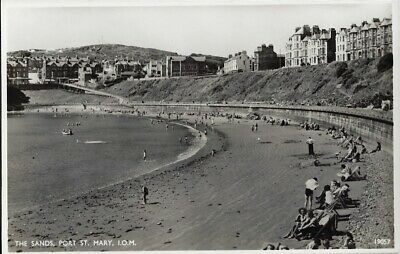 £5.50 • Buy PORT ST MARY( Isle Of Man) : The Sands ,Port St Mary,I.O.M.  RP-SALMON