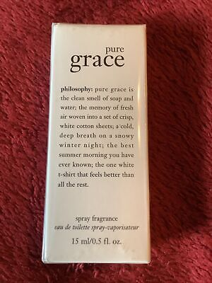 Philosophy Pure Grace Miniature EDT Spray Fragrance 15ml New And Sealed • 12.50£