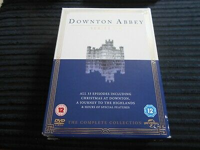 Downtown Abbey Complete Series 1-4  FREE UK P&P • 13.99£