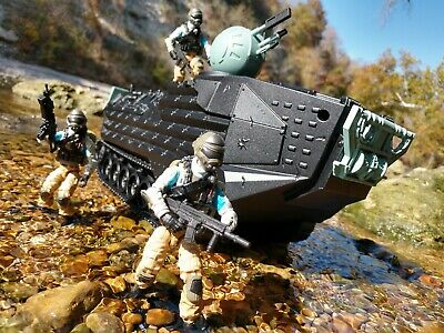 $ CDN71.87 • Buy CUSTOM Hasbro GI Joe Steel Brigade Amphibious Troop Transport Tank Free Shipping