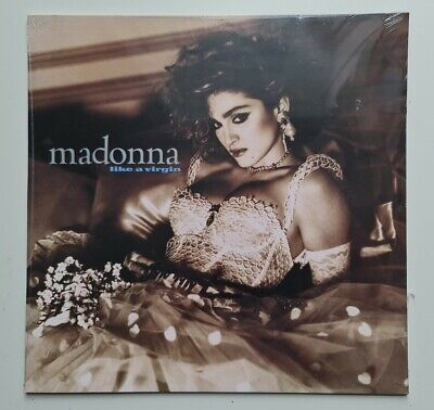 Madonna - Like A Virgin - Exclusive White Vinyl LP NEW & SEALED • 15.95£