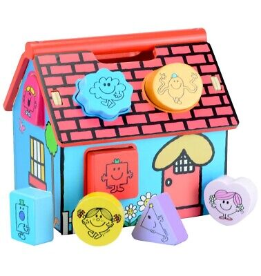 £6.90 • Buy Mr. Men Little Miss Shape Sorter House. Wooden Shapes. Great Activity Toy. Boxed