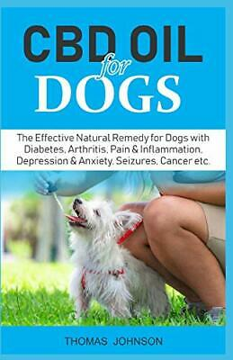CBD OIL FOR DOGS  The Effective Natural Remedy For Dogs With Diabetes • 9.93£