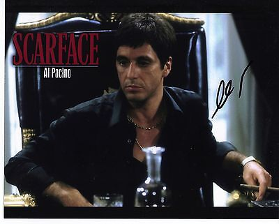 £249.99 • Buy Al Pacino Genuine Hand Signed 10x8 In Person Autograph SCARFACE (5149)