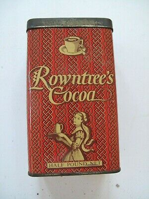 £20 • Buy Vintage Rowntree's Cocoa Tin