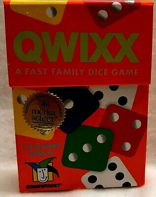 $ CDN12.91 • Buy QWIXX Dice Deluxe Game National Competition Winner Ages 8+ Gamewright 2014 MIB