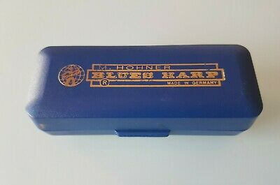 $21.81 • Buy Armonica A Bocca M. Hohner Blues Harp Made In Germany Vintage
