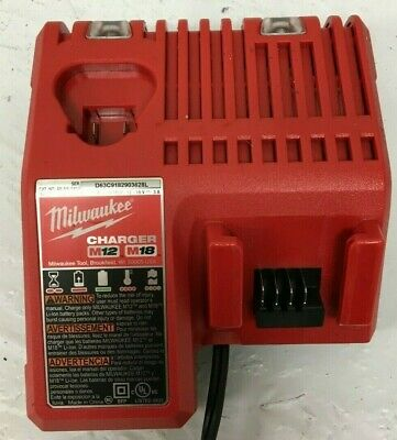$29.99 • Buy Milwaukee 48-59-1812 M12 / M18 Lithium Ion Charger,ln