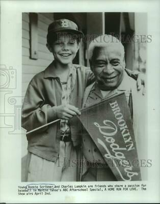 $ CDN24.17 • Buy 1980 Press Photo Ronnie Scribner And Charles Lampkin In A Home Run For Love