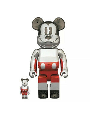 $449.99 • Buy BEARBRICK FUTURE MICKEY MOUSE 2nd COLOR 400% & 100% *CONFIRMED ORDER* SORAYAMA