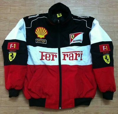 £32.88 • Buy Red Black Embroidery EXCLUSIVE JACKET Suit F1 Team Racing