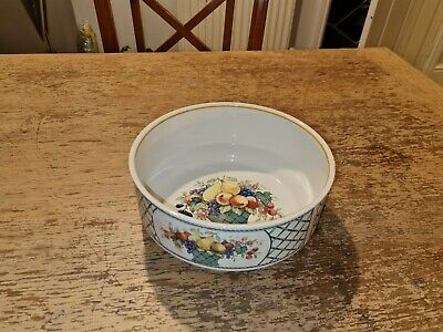 Villeroy & Boch Basket Large Serving Open Tureen / Vegetable Bowl Vgc  • 34.99£