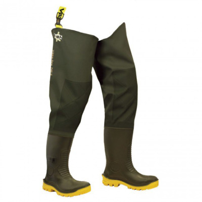 £61.75 • Buy Vass-Tex 740-60E Supernova Heavy Duty Thigh Waders With Re-enforced Knees