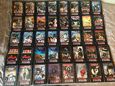 Job Lot Of 40 Manga Force Ultimate Collection DVDs Excellent Condition • 50£