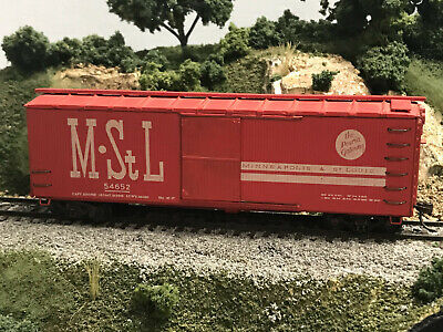 $9.99 • Buy Silver Streak Boxcar MStL RED #546521 RTR KDs And Sprung Trucks