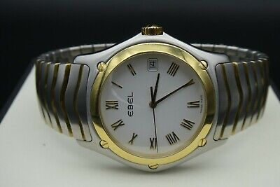 Ebel Classic Wave E1187F41 Gents Swiss Made Two Tone 18k 750 Gold / Steel   • 690£