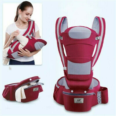 0-48M Ergonomic Baby Carrier Infant-Baby Hipseat Carrier Front Facing Kangaroo • 29.98£