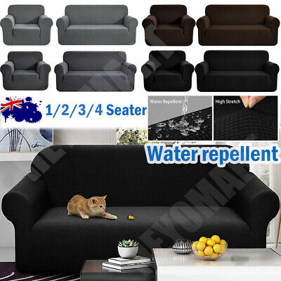 AU12.91 • Buy Sofa Covers Couch Lounge Protector Slipcovers 1/2/3/4 Seater Chair Waterproof AU