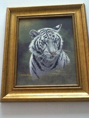 2 Stephen Gayford Signed And Framed Ltd Edition Prints - Siberian & White Tigers • 160£