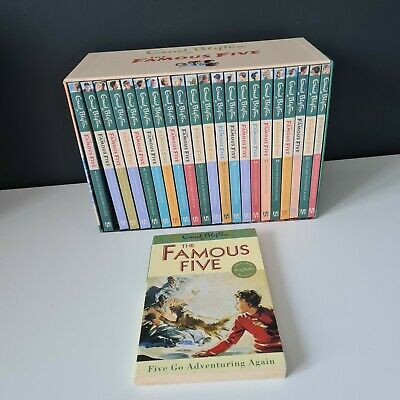 The Famous Five Collection 22 Books Box Set By Enid Blyton The Complete Library  • 33.99£