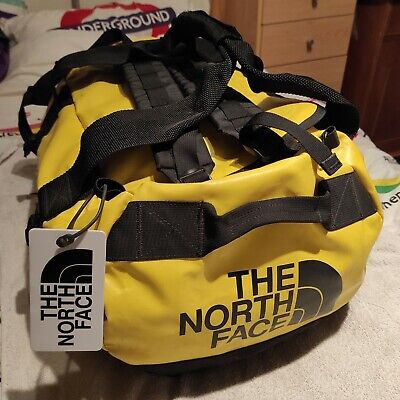 The North Face Basecamp Expedition Duffle Bag | Summit Gold / Black | Small 50L. • 65£