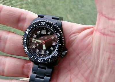 $ CDN424.66 • Buy Seiko Custom Built SKX007 / 6105 Black PVD Stealth Mod