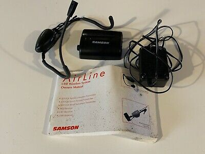 Samson AH1/QE UHF Wireless Microphone System Headset - No Wires Or Body Packs  • 130£