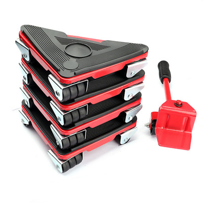 AU31.59 • Buy 5X Furniture Slider Lifter Moves Wheels Mover Kit Home Moving Lifting System AU