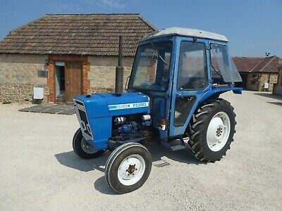 Ford 3600 2wd Tractor Part Restored New Tyres Power Steering Pick Up Hitch Diese • 4,495£
