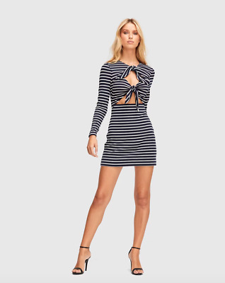 AU20 • Buy Bnwt Alice Mccall Ink Space Is The Place Mini Dress - Size 12 Au/8 Us (rrp $195)